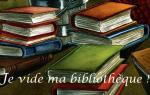 Challenge - Je vide ma bibliothèque